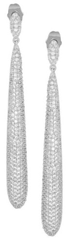 Boucles d'oreilles en pierres Kenneth Jay Lane