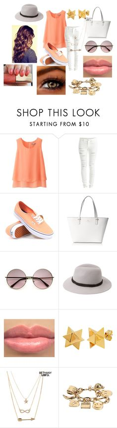 """Girlfriend"" by niallypotatoes ❤ liked on Polyvore featuring Uniqlo, Vila Milano, Vans, Kate Spade, Forever 21, Dolce&Gabbana, Elisabeth Bell, Aéropostale and Moschino"
