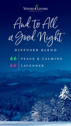 Young Living 491877590555193708 - Ease into dreamland with this And to All a Good Night diffuser blend by combining the calming, sweet aroma of Peace & Calming with the fresh and floral scent of Lavender essential oil. Source by youngliving Calming Essential Oils, Essential Oils For Babies, Essential Oils Guide, Essential Oil Diffuser Blends, Young Living Essential Oils, Young Living Oils, The Fresh, Betta, Lavender Diffuser