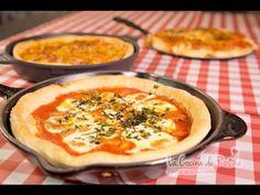 Pizza casera paso a paso - Receta fácil de preparar