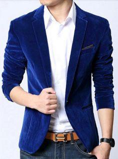 Blue Velvet Prime Blazer