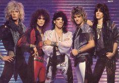 Ratt - What I'm After (Stephen Pearcy, Warren DeMartini, Robbin Crosby, Juan Croucier, Bobby Blotzer) Reach for the Sky (Cujo Vasquez) Glam Metal, Big Hair Bands, Hair Metal Bands, 80s Rock Bands, Rock And Roll Bands, Hard Rock, Bobby, 80s Hair Metal, Rock Hairstyles