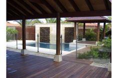 Aluminium semi frameless glass - find out more http://www.preciseglassfencing.com.au/semi-frameless-glass-pool-fencing/