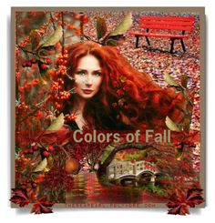 """""""Colors of Fall"""" by theseapearl ❤ liked on Polyvore featuring art, Fall, expression, artset and FallColors"""