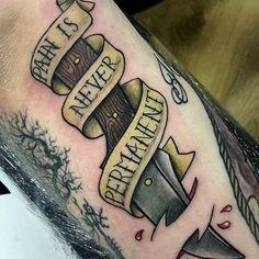 Neck Deep tat