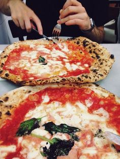 #46 Eat Pizza Margherita at L'Antica Pizzeria da Michele in Naples, Italy.