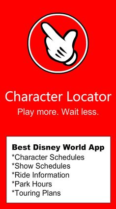 Disney World Character Schedules, Touring Plans, Crowd Calendars, Park Hours, Wait Times, and dining menus! #disneyworldplanning
