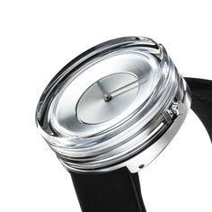Tokujin Yoshioka Designed a Glass Watch for ISSEY MIYAKE Watch Project - Design Milk
