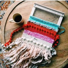 @elisejoy came along to my beginners weaving class LAST WEEK and this is what…