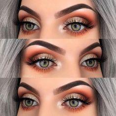 Top 25 Life Changing Eye Makeup Tips for Beginners, … – Make up Tipps – # Makeup Guide, Eye Makeup Tips, Makeup Hacks, Smokey Eye Makeup, Makeup Goals, Beauty Makeup, Makeup Ideas, Copper Eye Makeup, Shimmer Eye Makeup