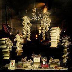 Bookstore display of censored books