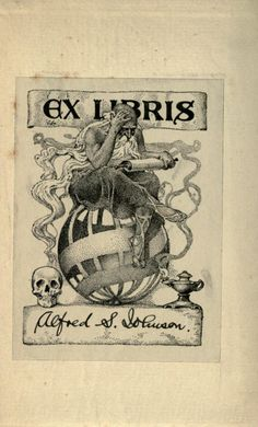 Buchschmuck Ex Libris, Typography Letters, Lettering, Personalized Books, Pen And Paper, Cool Posters, Cover Design, Plates, Graphics