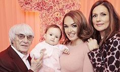 Tamara Ecclestone explains one-year-old daughter's incredibly birthday #DailyMail