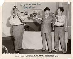 Joe Besser Signed Three Stooges  Photo $50
