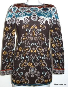 Ivko Jumper Wool Renaissance Merino Extra Fine, Brown - 32508 Jumper Brown #Ivko #Sweater