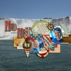 Maid of the Mist by CT Julie Long using Cruising Along kit