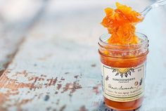 Peach Bourbon Jam - Small Batch Artisan - 8oz Jar by Sunchowders Emporia on…