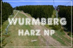 Wurmberg - the second highest mountain in Harz NP, Germany