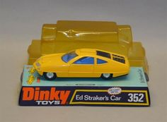 Dinky Toys #352 Ed Straker's Car (Gerry Anderson's UFO) - yellow ...