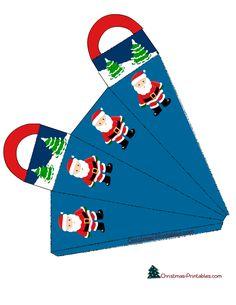 christmas gift bag pritable