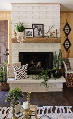 Brick Fireplace Mantle 271 – DECORATHING
