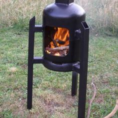 Space Oddity Fire Pit Brazier Blacksmith Projects, Welding Projects, Gas Bottle Wood Burner, Outdoor Living Patios, Tent Heater, Outdoor Stove, Outdoor Fire, Fire Pit Gallery, Washing Machine Drum