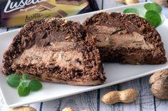 Ciasto podwójnie orzechowe z wafelkami – Smaki na talerzu