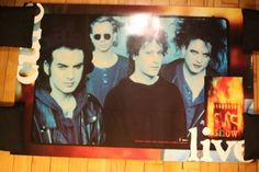 THE CURE - Rare Vintage Poster FOR SALE