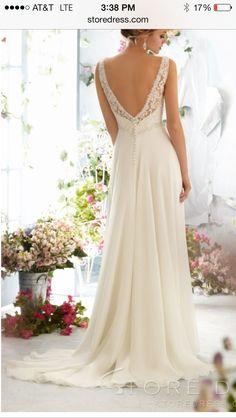Super cute wedding dress from storedress.com