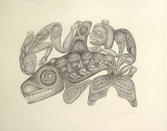 Rare 1983 Haida Artist Bill Reid Lithograph Nanasimgit Legend Comes With Authenticity Document Native Art, Native American Art, Bill Reid, Vancouver Art Gallery, Haida Gwaii, Royal Ontario Museum, Haida Art, Silk Screen Printing, First Nations