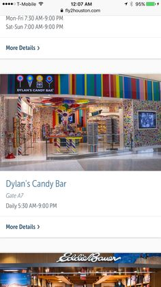 Airplane Snacks, Sun 7, Dylan's Candy