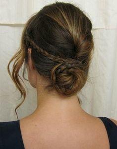 braided bun//