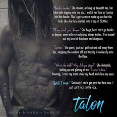 prone to crushes on boys in books: Cover Reveal & Giveaway Talon by Carian Cole