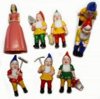found the mini plastic gnomes for future reference