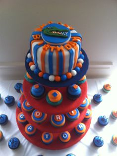 Florida Gators Cake Diva cakes Pinterest