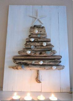 case e interni - decorazioni natalizie fai da te - diy - albero alternativo 3