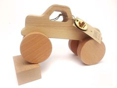 Wooden Toy Jeep-Kids ToyNatural by WoodyWoodenToys on Etsy