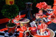 Alice in Wonderland Valentine's Day Party #aliceinwonderland #valentine