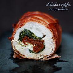 Pork Recipes, Cooking Recipes, Healthy Recipes, Turkey Roulade, Beef Wellington Recipe, Polish Recipes, Polish Food, Main Meals, I Foods