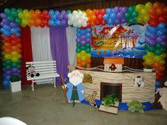 Marre Encanto - Festa infantil: FESTA INFANTIL - ARCA DE NOÉ