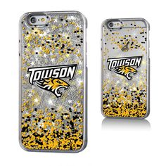 Towson Tigers Gold Glitter iPhone 6 & 6s Case