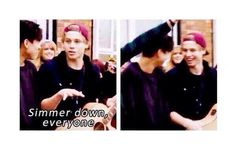 Luke quoting his own song