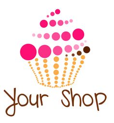 Cupcake Bakery Logo Ideas Best Of Premade Cupcake Logo Design by Karmaimaging On Etsy Of Cupcake Bakery Logo Ideas Fresh Bakery Logo Design Custom Logo Creative Logo, Creative Design, Cupcake Logo, Cupcake Bakery, Cupcake Decorating Party, Cupcake Factory, Baking Logo, Bakery Logo Design, Label Design
