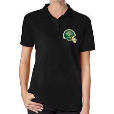 Womens Alaska Anchorage Seawolvestex Short Sleve Uniforms Polo Shirt *** Continue to the product at the image link.