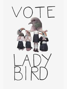 Movie Posters Discover vote lady bird Poster by vote lady bird Poster Bedroom Wall Collage, Photo Wall Collage, Picture Wall, Movie Collage, Picture Collages, Bird Poster, Poster Wall, Poster Prints, Movie Prints