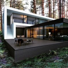 Follow my friend @restless.arch for more!Kiedy House | M2 Architectural Group Kiev, UkraineTag...