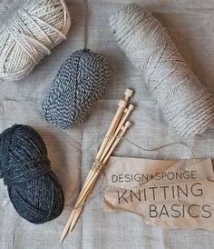 How to Knit (The Basics) Illustrated by Caitlin Keegan
