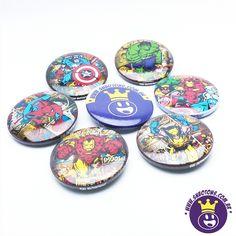 Botons Marvel retro  acesse o site www.snbotons.com.br #SNBotons #botons #bottons #buttons #badges #badge #Marvel #ironman #homedeferro #wolverine #homemaranha #spiderman #hulk #capitãoamerica