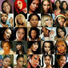 Female rappers...Yes they existed, AND they could RAP...Get ya weight up new-school!