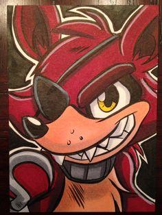 Foxy by joshuadraws.deviantart.com on @DeviantArt